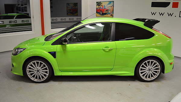 Ford Focus RS MK2 green Foto 2