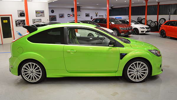 Ford Focus RS MK2 green Foto 5