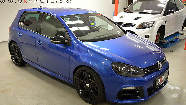 vw golf 6r blau schwarz dk motors. Black Bedroom Furniture Sets. Home Design Ideas