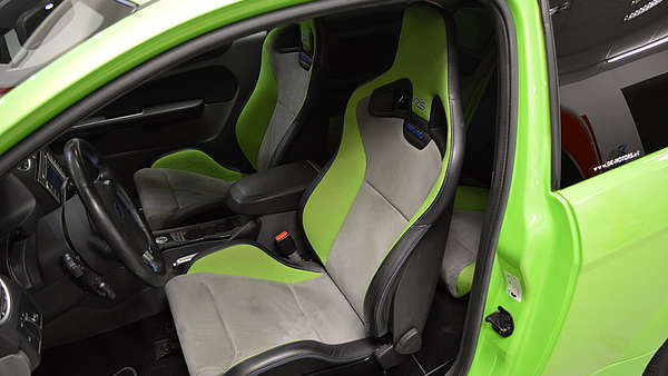 Ford Focus RS MK2 green Foto 11