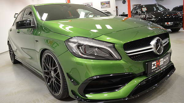 Mercedes A45 AMG Performance Facelift Foto 5