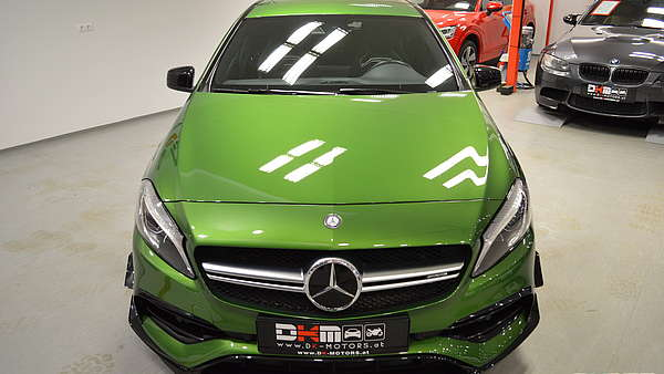Mercedes A45 AMG Performance Facelift Foto 6