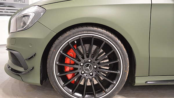 Mercedes A45 AMG Performance Foto 10